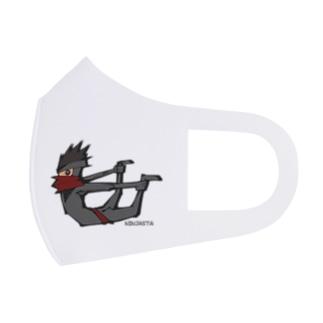 ニンジャスタ-反り体- Full Graphic Mask