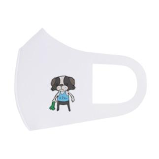 狆ワワの小太郎 Full Graphic Mask
