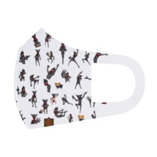 ニンジャスタ-ドット風味- Full Graphic Mask