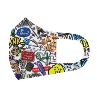 爆釣アーティスティック Full Graphic Mask