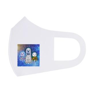 あまびえオールスターマスク Full Graphic Mask