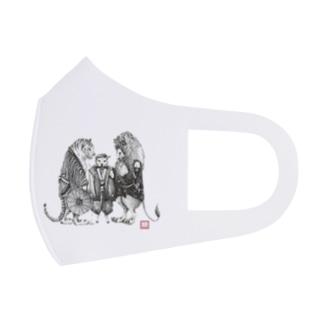 黄門さま(Love All Wild Animals) Full Graphic Mask