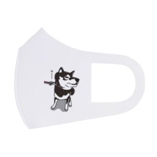 イヤイヤしちゃう柴犬 Full Graphic Mask