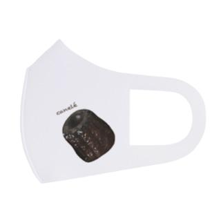 カヌレ・canelé Full Graphic Mask