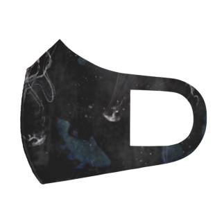 Devil's deep sea Face Mask