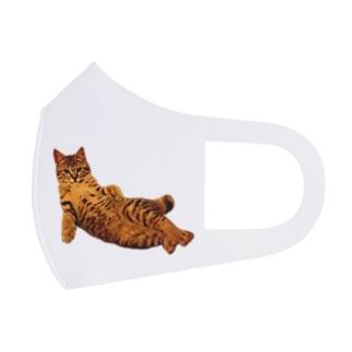 Elegant Cat ① Full Graphic Mask