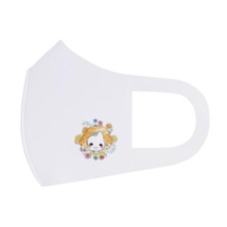 ごきげんちゃん Full Graphic Mask