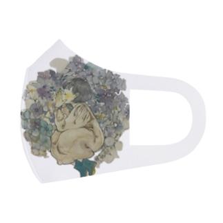 梅雨空の魔法 Full Graphic Mask