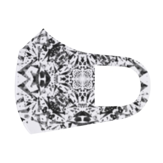 クロス(黒ver) Full Graphic Mask