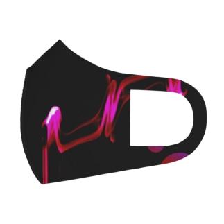 残りの時間 Full Graphic Mask