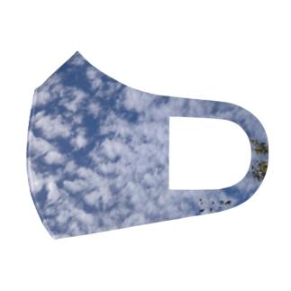いわし雲photo2 Full Graphic Mask