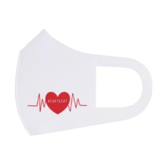 HEARTBEAT -鼓動- Full Graphic Mask