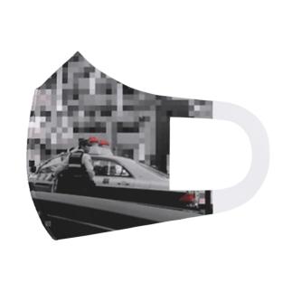 パトカー警ら命 Full Graphic Mask