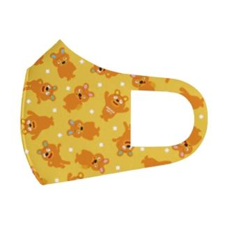 エモベア―ちらし Full Graphic Mask