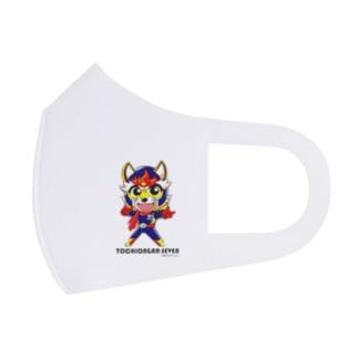 トチオンガーセブン商店のとちおんがーせぶん Full Graphic Mask