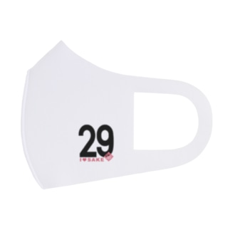 I♥SAKE29普及アイテム Full Graphic Mask
