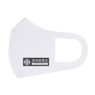 清四郎商店ロゴ Full Graphic Mask