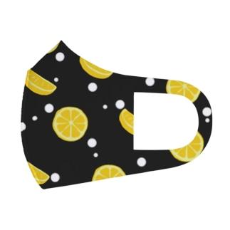 レモンサワー Full Graphic Mask