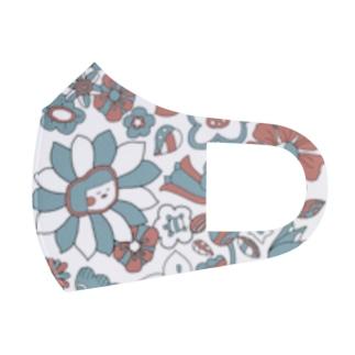 花こちゃん(ブルレ) Full Graphic Mask