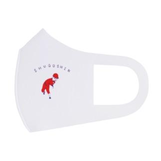 野球Tシャツ「守護神」 Full Graphic Mask