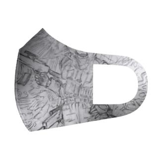傭兵さん、A Full Graphic Mask