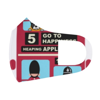 アップルバス Full Graphic Mask