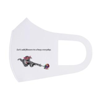兵士の休息 Full Graphic Mask