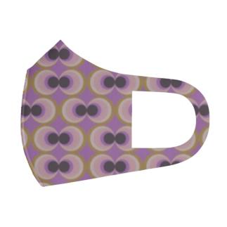 70年代レトロモダン柄 Full Graphic Mask