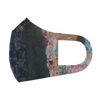 グスタフ・クリムト(Gustav Klimt) / 『死と生』(1915年) Full Graphic Mask