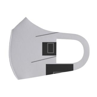 無言~mugon~10 違和感 Full Graphic Mask