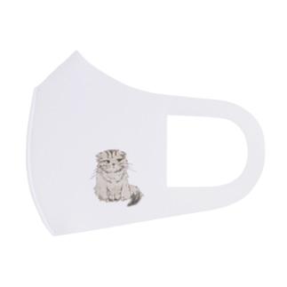うちの猫のリオンくん Full Graphic Mask