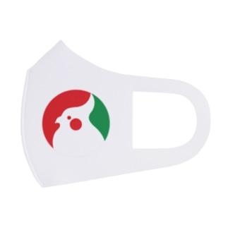 ロゴ風オカメインコ Full Graphic Mask