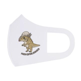恐竜 パキケファロサウルス Full Graphic Mask