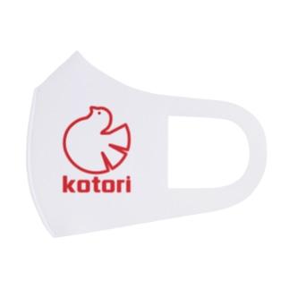 ロゴ風kotori Full Graphic Mask