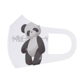 パンダ Full Graphic Mask