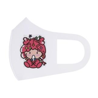 社会人アーティストまえぽんのぽんちゃんマスク(おんぷ) Full Graphic Mask