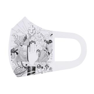 標識と信仰 Full Graphic Mask