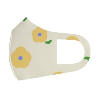 お花 Full Graphic Mask