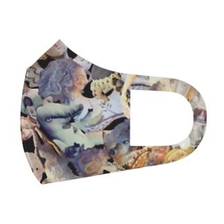 ドール柄 Full Graphic Mask