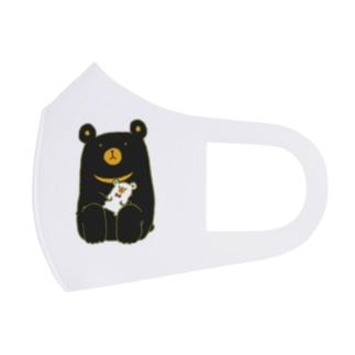 大事なものがあるクマ Full Graphic Mask