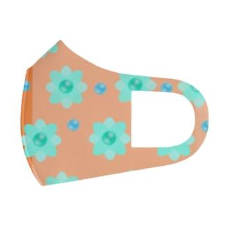 レトロな春の香り Full Graphic Mask