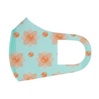 レトロな春の香りB Full Graphic Mask