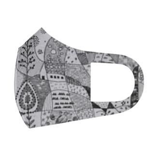 ヤマウズラa Full Graphic Mask