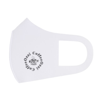 Cafe Style Full Graphic Mask