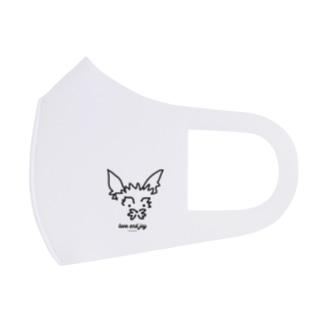 愛犬love&joy Full Graphic Mask