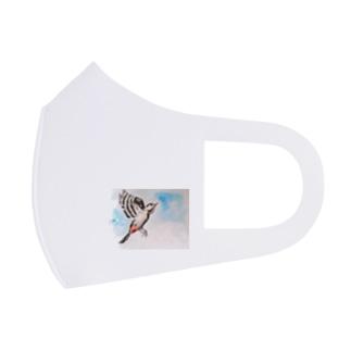 アカゲラ Full Graphic Mask