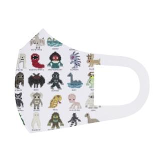 ドットUMA図鑑 Full Graphic Mask
