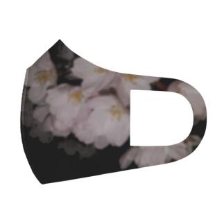 夜桜 Full Graphic Mask