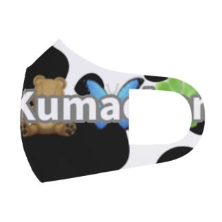 牛柄🐄🤍 Full Graphic Mask