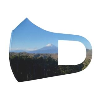 富士山 Full Graphic Mask